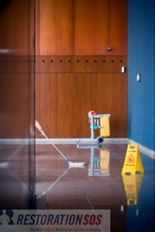 Learn how to perform water damage recovery and cleanup in colleges on college campuses