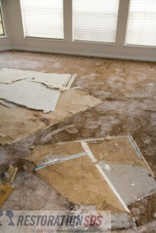 A sewage backup damages building materials such as floors, walls, insulation, etc. Learn how to determine what to keep and what to discard after a sewage backup