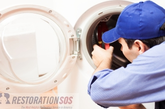 Learn what you can do to prevent your washing machine from leaking and causing a flood in your laundry room