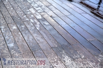 Learn how backyard decks can become water damaged and how to prevent water damage from happening to your home's deck