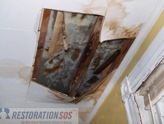 Repairing Water Damage In The Ceiling