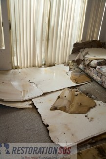 The aftermath of water damage. Many of your personal belongings can be salvaged. Learn how to determine what to keep and what to discard after a water damage.